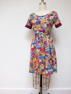 A Colorful Elisalex by Jennifer, Workroom Social   Project   Sewing / Dresses   Kollabora #diy #kollabora #sewing #dress