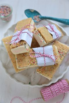 Birthday Cake Ice Cream Sandwiches by countrycleaver #Ice_Cream_Sandwich #Birthday