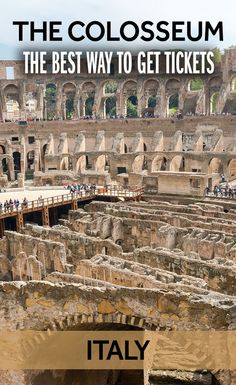 Want the best way to get tickets to the Colosseum? When there are huge queues, I've got the tips to help you save time and money in Rome!