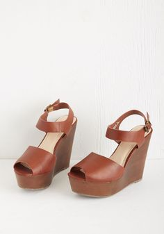 cbd2b20312f8 Runway with You Wedge. Fellow fashionistas will want to follow the path you  pave in