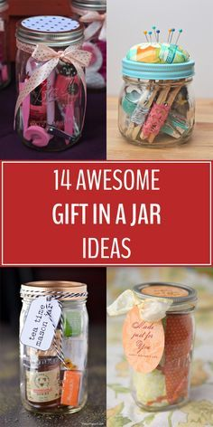 Diy Gifts In A Jar, Easy Diy Gifts, Mason Jar Gifts, Mason Jar Diy, Homemade Gifts For Friends, Christmas Jars, Christmas Gifts For Him, Last Minute Christmas Gifts, Christmas Hamper