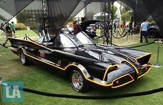 The first Batmobile.