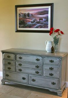 Ideas for dresser painting