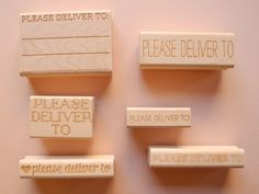 Paper Pastries Please Deliver To Rubber Stamps