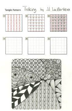 Tinker Tangles: New Pattern: Ticking by JJ LaBarbera