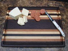 Manhattan Series Cutting Board - Walnut, Cherry & Maple