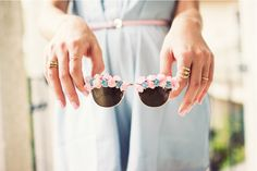 glasses, floral, pastels, spring style