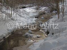 der Milchbach im Winter
