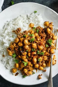 Crispy Chickpeas With Ground Meat Recipe - NYT Cooking