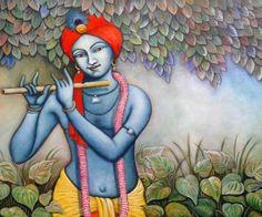 Lord Shree Krishna painting wallpapers Radha Krishna Pictures, Krishna Radha, Lord Krishna, Holy Quotes, Krishna Painting, Krishna Quotes, Bhagavad Gita, Painting Wallpaper, Hinduism