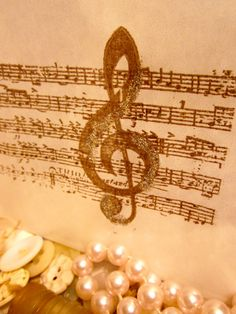 Music Note favor bags