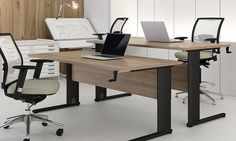 Stylish and functional Optima Plus Height Adjustable desks from Elite Office Furniture.