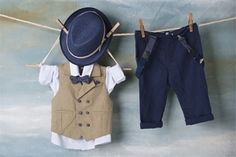 Baby Christening, Boys Suits, Kids Wear, Fashion Backpack, Vest, How To Wear, Street Styles, Collections, Birthday