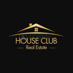 logotipo inmobiliaria: Logo Club House Real Estate Vectores