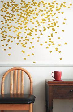 vinyl wall decal sticker art decal Gold vinyl decal  by Jesabi, $29.00