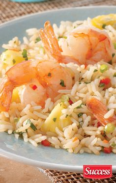 A great Pineapple Thai Rice recipe made with Boil-in-bag Success Rice.