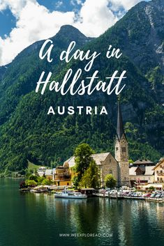 Visiting beautiful Hallstatt, Austria, a UNESCO World Heritage Site. From here, you can explore Lake Hallstatt, take a funicular to the top of the mountain and explore the Skywalk and Salt Mine.