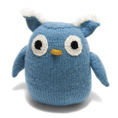 Is there anything cuter than this stuffed owl? Made from Alpaca wool, he is the softest little addition to any home and will be a hit with all your little loved ones.