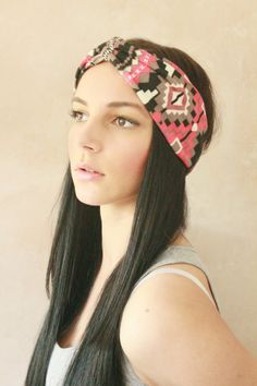 Turban Twist  Turban Headband Boho Headband Hippie by DreamingDays, $15.12  Maybe for Bonnaroo this year?
