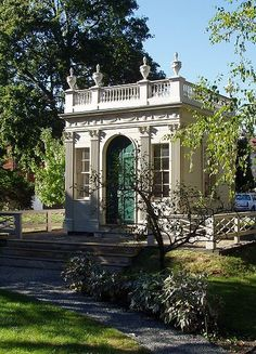 Derby-Beebe Summer House - Salem, Massachusetts. This structure is now owned by the Peabody Essex Museum.