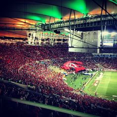 Place of the final of the 2014 world cup. Watch a FLAMENGO's match is a must! (Flamengo is the best soccer team from Rio, just the best.)