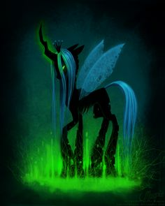 Queen Chrysalis.  One of my daughter's favorite characters. And I love that.