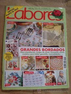 LABORES DEL HOGAR - Nº 438- 1994 - GRANDES BORDADOS - CON PATRONES - SIN USAR (Modelismo y Radiocontrol - Revistas)