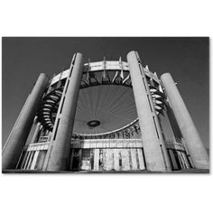 Trademark Fine Art Flushing Meadow Worlds Fair Canvas Art by Yale Gurney, Size: 12 x 19, Multicolor