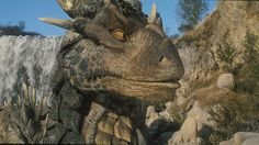 """""""Dragonheart,"""" released twenty years ago this week, was a live-action film that had one of the first digital characters you could believe in. We talk to the ILM artists who created it. Dragon Heart, Funny Meme Pictures, Live Action Film, The Lost World, Oral History, Fantasy Dragon, 20th Anniversary, Visual Effects, Creature Design"""
