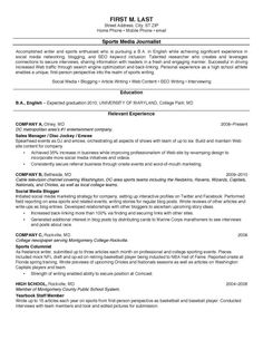 college resume 8 - Sample Resume For Students