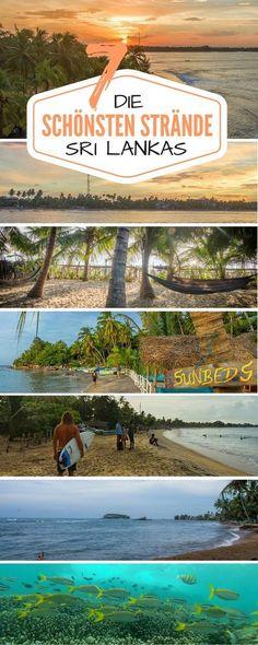 Hier stelle ich dir die 7 schönsten Strände in Sri Lanka vor – das Land eignet sich nämlich hervorragend für Surf- und Badeurlaub.