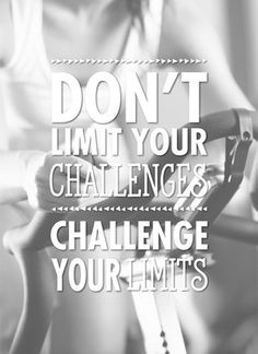 Don't limit your challenge, challenge your limits! #Hallmark #HallmarkNL #quotefulness #quotes