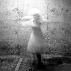 Francesca Woodman beat me to it. Have had my photos for years and haven't done anything!  : (