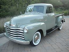 1949 Chevy. Be still my heart....