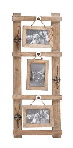 Brilliant Styled Wood Wall Photo Hook