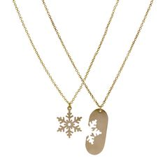 Matching Snowflake Necklaces, $78   24 Matching Jewelry Pieces For You And The One You Love