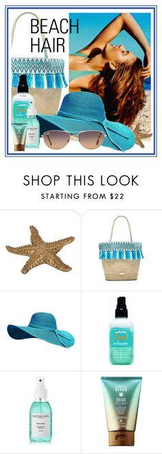 """beach hair"" by sandevapetq ❤ liked on Polyvore featuring beauty, Caffé, Bumble and bumble, Sachajuan, Maui Jim and beachhair"