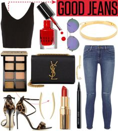 """""""GOOD JEANS"""" by dreamer-for-days on Polyvore"""