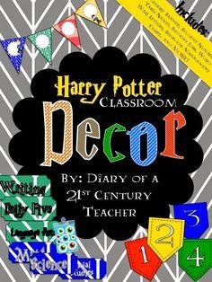 Diary of a 21st Century Teacher: Harry Potter Classroom Decor