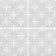 This square x feature floor tile is perfect for creating a distinctive look in any room. Wicker dove is a beautiful grey ceramic tile with a matt finish and a intricate and unique pattern. Patterned Wall Tiles, Grey Tiles, Grey Flooring, Kitchen Flooring, Floors, Laura Ashley Floor Tiles, Bathroom Floor Tiles, Tile Floor, Dove Grey