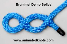 Brummel | Make a Brummel Eye Splice using Both Ends | Splicing Knots