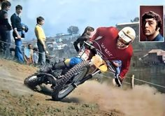 Motocross Action, Motocross Racer, Freestyle Motocross, Motocross Bikes, Enduro Vintage, Vintage Motocross, Vintage Bikes, Bmx Pedals, Old Scool