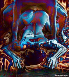 ॐ Psychedelic Mind ॐ: fotografia Pin Up Drawings, Amazing Drawings, Black Women Art, Black Art, Art Of Love, Dope Art, Arte Pop, Erotic Art, Trippy