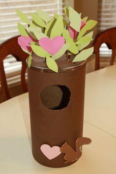 Valentine's Day: Tree Valentine Box
