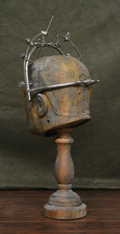 Antique Brain Surgery Surgical Medical Skull Clamp Set of 2 Lobotomy   eBay