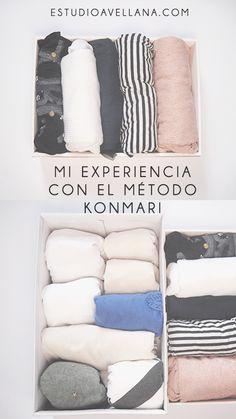 Mi experiencia con el método Konmari: El armario
