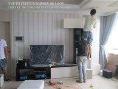 thiết kế và thi công căn hộ chung cư cao cấp ESTTELA quận 2. hình ảnh thực tế của viphomes.vn