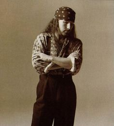 The Edge from U2 - I love this pic, always through the years