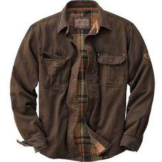 Men's Journeyman Rugged Shirt Jacket   Legendary Whitetails