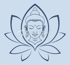 buddha silhouette vector free download - Google-Suche